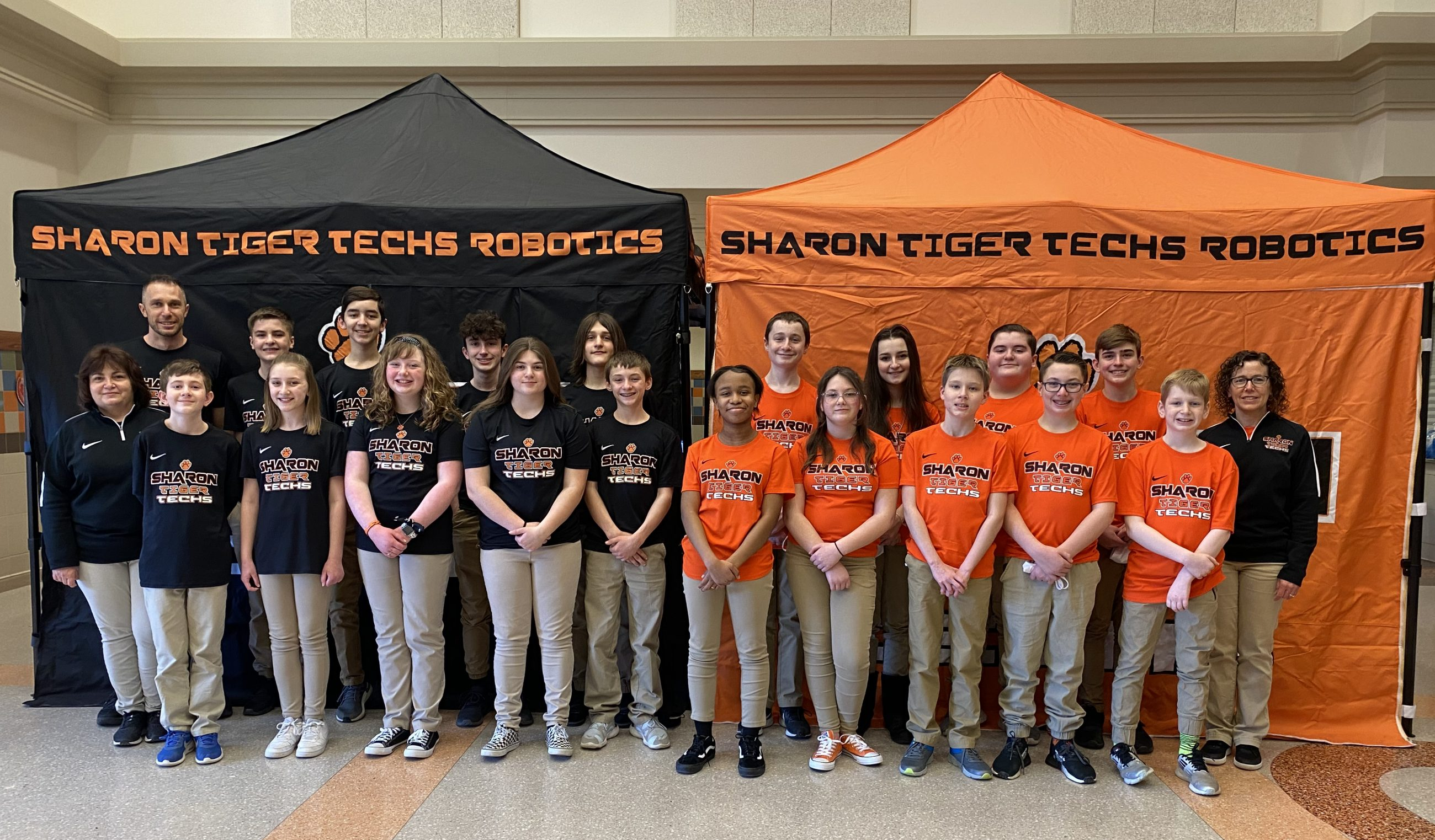 Sharon Tiger Techs Robotics Teams